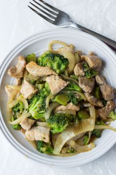 This Low Carb Pork and Broccoli Stir Fry is one of our favorite low carb meals! It's full of flavor (and veggies), and you won't even miss the rice.