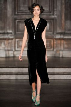 Fall 2012 - L'Wren Scott will forever be one of my favorite designers