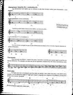El libro de las escalas Guitar Classes, Music Chords, Music Theory, Musicals, Sheet Music, Blues, Popular Music, Guitar Songs, Music Guitar