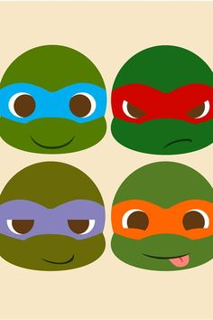 Cute ninja turtles. This is why i love the orange one _michelangelo