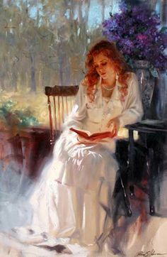 Richard S. Johnson... Isn't she pretty?  I'd like to have this print!