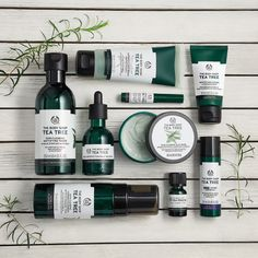 The Body Shop Tea Tree Oil Skin Care Line