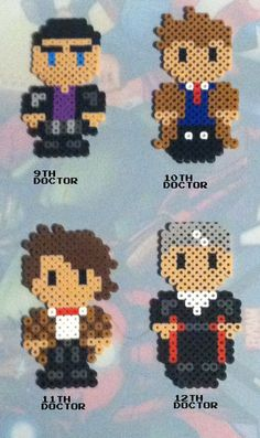 Doctor Who perler beads by TriforceInk....for Beth