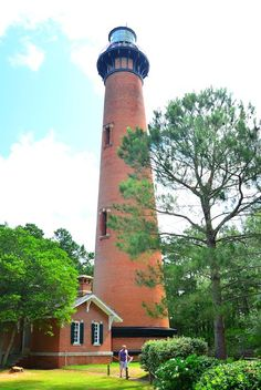 Currituck Beach Lighthouse~Outer Banks Corolla~North Carolina