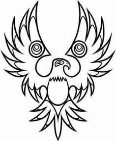 how to draw a native american tattoo, native american tattoo step 8