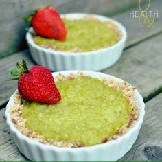 Lime-Avocado Tarts  easy and refreshing! Raw and Vegan treat for two! we all know avocados are great for you but did you know limes can ...