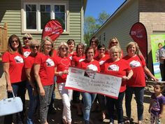 """Yesterday the """"Trussted Sisters Team"""" presented a cheque of $6670 for the…"""