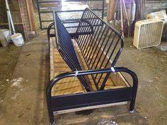 Hay Feeder DIY Project for Under $30 - Pauley Alpaca Company
