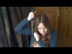 Babyliss Pro Conical Wand Hair Tutorial best tutorial to using a wand. Makes the curls look so pretty, casual, and natural.