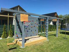 Kids Backyard Playground, Backyard For Kids, Kids Outdoor Play, Kids Play Area, Garden Sitting Areas, Play Yard, Backyard Paradise, Outdoor Landscaping, Play Houses
