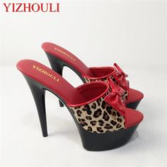 15cm Sexy High-Heeled Shoes Crystal Sandals Sweet Rhinestone Sexy Shoes  Bride Wedding Shoes Heels Platform Stripper Shoes. Yesterday s price  US   65.00 ... 5ed98abe2237