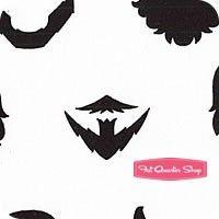 Brilliant Beards White Beard Style Yardage <br/>SKU