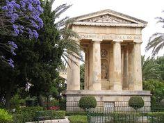 The Barrakka Gardens in Valletta, Malta | Europe a la Carte Blog