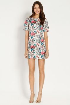 Tropical Forest Shift Dress