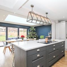 I love my house 🏡 . Shaker Kitchen, Kitchen Island, My House, Home And Family, Interior, Home Decor, Board, Happy, Island Kitchen