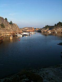 Fantebukta, Sandefjord i solskinn.