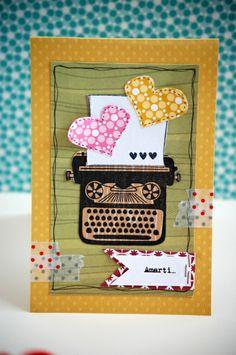 typewriter for Julie