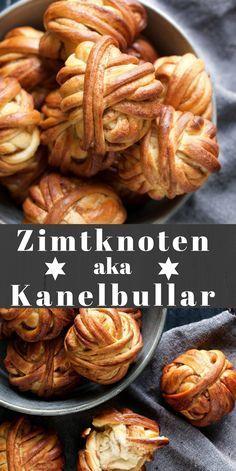 Zimtschnecken Adé ....jetzt gibt es das Rezept für Zimtknoten aka Kanelbullar.