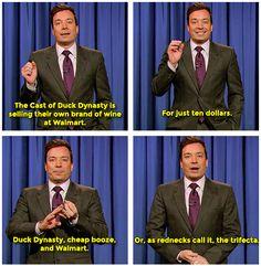 Jimmy's Monologue 11/11/13 #DuckDynasty #WalMart