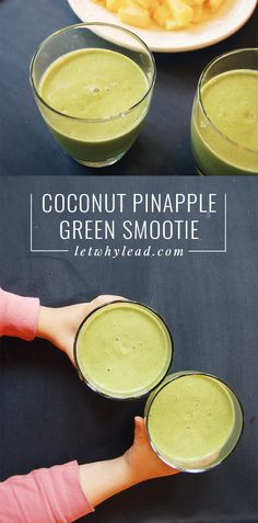 A great way to start your kid's day with something healthy! Bright, sweet, creamy and refreshing.