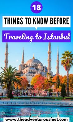 raveling to Istanbul for the first time? Here is everything you need to know before you go. |Travel tips for first time visitors to Istanbul |what is the best time to visit Istanbul| Is it safe to travel to Istanbul| what to know before visiting Istanbul |Istanbul travel tips |tips for traveling Istanbul |travel tips istanbul | istanbul travel advice |travel tips for istanbul |istanbul tips | things to know before going to istanbul #whattoknowbeforegoingtoistanbul #istanbultraveltips World Travel Guide, Europe Travel Guide, Travel Info, Travel Advice, Asia Travel, Travel Destinations, Travel Tips, Beautiful Places To Travel, Cool Places To Visit