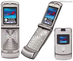 My Cell Phones Part 3 - Motorola Razr. I loved this phone too!  It was so slender...At the time.