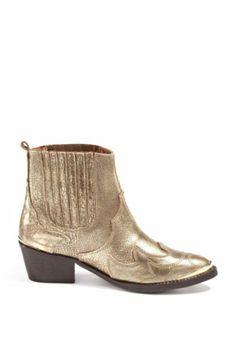 Golden Western Boots