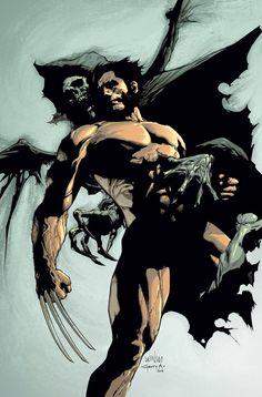 Wolverine by Leinil Francis Yu.