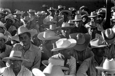Crowd of Mexican bracero workers in Hidalgo, Texas.  Bitter Harvest: LIFE With America's Migrant Workers, 1959 | LIFE.com