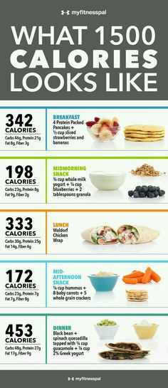 1500 calorie day meal plan