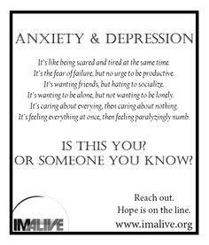 IMAlive.org | Suicide Prevention  - Anxiety and Depression. Reach out.