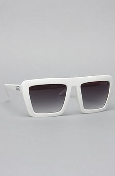The Retro Rocker Sunglasses in Bright White by Vans