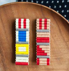 Nautical Flag Bracelet by GROWING via Design Sponge
