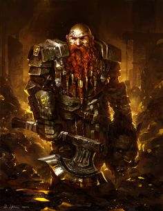 Dwarf Goldguard by Vablo on DeviantArt