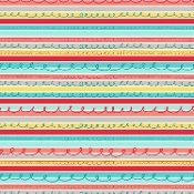 Windham Animal ABC's Multi Stripe