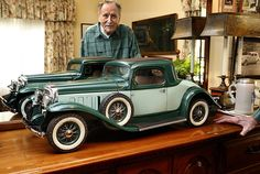 miniature wood auto models - Google Search