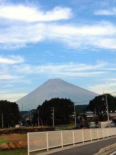 Mt.Fuji 富士山 10/10/2014 (Shizuoka Japan 静岡県裾野市)
