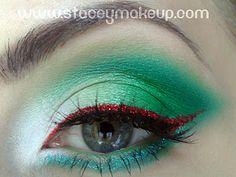 Dicas de maquiagens : Bandeira italiana inspirada