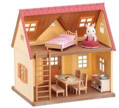 Sylvanian Families - Základní patrový dům s příslušenstvím