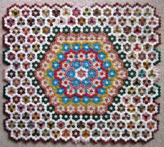 This must be the best use of hexagons i have seen. Its called Insanity. Thats 3000 hexagons apparently !