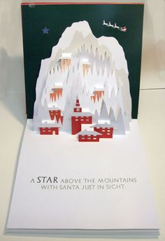 Follow the Star pop-up book