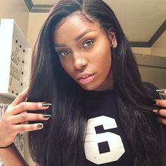 360 Lace Frontal Closure 100%Virgin Brazilian Hair Straight Hair With Bundles
