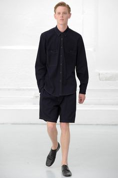 Christophe Lemaire Spring 2015 Menswear Collection Slideshow on Style.com
