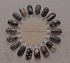200 Best Black Gold Nails Design Images Pretty Nails Gorgeous