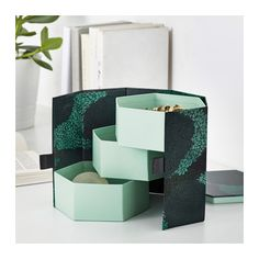 EKLOG Decorative box, green