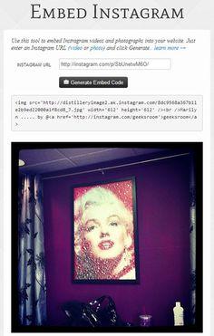 Cómo incrustar fotos y vídeos de Instagram en páginas web y blogs