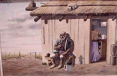 Florencio Molina Campos - vida y obras (1891-1959). Lo que mejor sensacion me da en este mundo..la llanura del campo argentino con sus costumbres y su cultura.