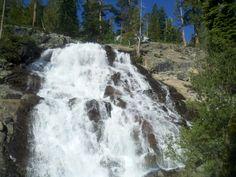 lower Eagle falls, Lake Tahoe