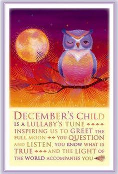 December's Child December Baby, December Birthday, Light Of The World, Archer, Full Moon, Sagittarius, Knowledge, Thankful, Holidays