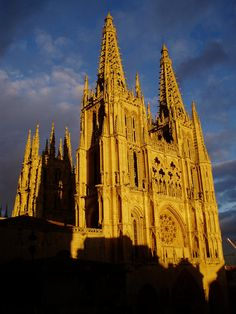 BURGOS Cathedral. Spain..